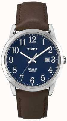 Timex Męski niebieski wybierania łatwy czytnik TW2P75900