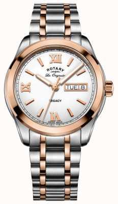 Rotary Męski zegarek dwustopniowy GB90175/06