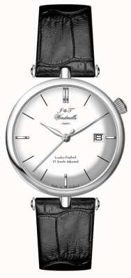 J&T Windmills Męski zegarek ze sztyftem w kratkę WGS10003/06