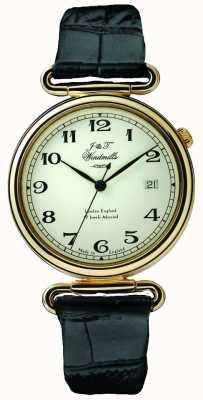 J&T Windmills Męski zegarek mechaniczny throgmorton pozłacany WGS50002/18