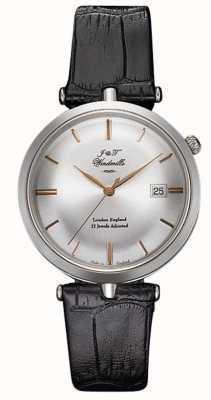 J&T Windmills Męski zegarek mechaniczny ze srebra różowego złota WGS10001/06