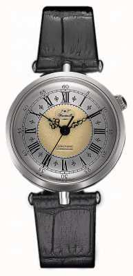 J&T Windmills Womans throgmorton zegarek mechaniczny srebrny WLS10002/50