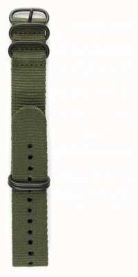 Elliot Brown Męski pasek z nylonu 22mm tylko z brązu STR-N01