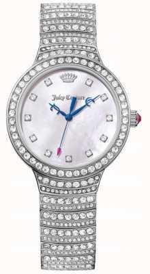 Juicy Couture Damska Catalina ze stali nierdzewnej różowa masa perłowa 1901532