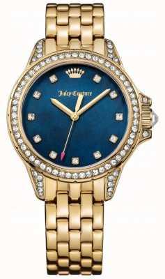 Juicy Couture Damska biżuteria ze złota w odcieniu malibu w kolorze złota, z masy perłowej 1901492