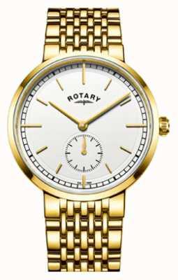 Rotary Biała tarcza ze stali nierdzewnej w kolorze canterbury gold GB05062/02