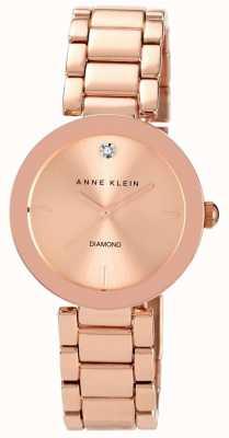 Anne Klein Damska bransoleta z różowego złota z tonem różowego złota AK/N1362RGRG