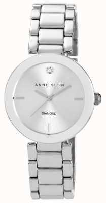 Anne Klein Damska bransoleta ze stali szlachetnej srebrna tarcza AK/N1363SVSV