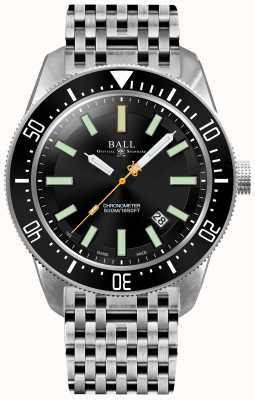 Ball Watch Company Mężczyzna inżynier mistrz ii skindiver ii automatyczny chronometr DM3108A-SCJ-BK