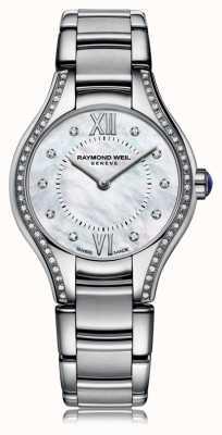 Raymond Weil Womans noemia 62 diamentowa tarcza z masy perłowej 5124-STS-00985