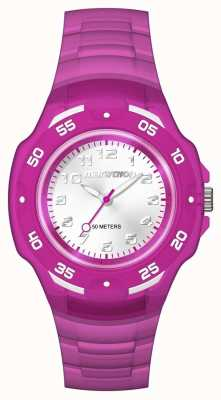 Timex Unisex analog maraton mid fioletowy TW5M06600