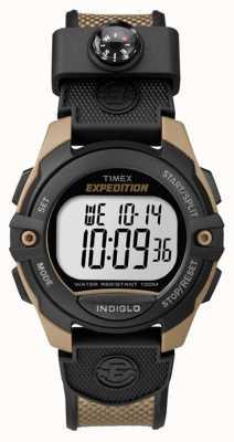 Timex Męski ekspedycja chronografu budzik brązowy TW4B07800
