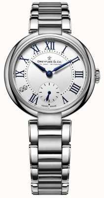 Dreyfuss 1974 - zegarek damski ze stali nierdzewnej DLB00157/01/L