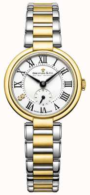 Dreyfuss ladies 1974 dwubarwny zegarek DLB00158/01