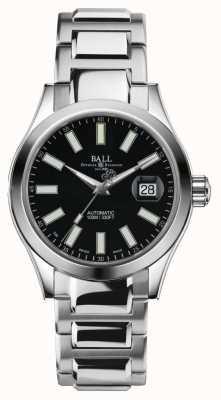 Ball Watch Company Mężczyzna inżynier ii automatyczna czarna tarcza ze stali nierdzewnej NM2026C-S6-BK