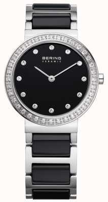 Bering czarna stal ceramiczna / stalowa 10729-702