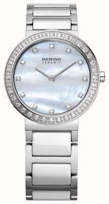 Bering Kobiety ze stali nierdzewnej w kolorze srebrnym 10729-704