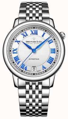 Dreyfuss Zegarek damski ze stali nierdzewnej z 1925 r DLB00148/01