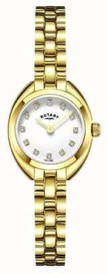 Rotary Womans pasek bransoleta pozłacany LB05015/11