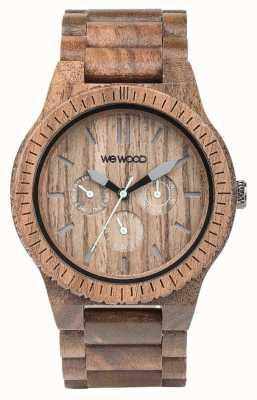 WeWood Mężczyzna kappa nakrętka drewniany brown pasek 70315700