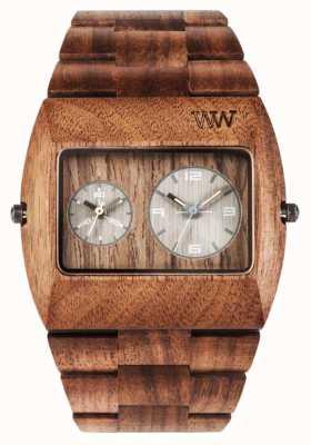 WeWood Mężczyzna Jupiter rs orzech drewniany brązowy pasek 70331700
