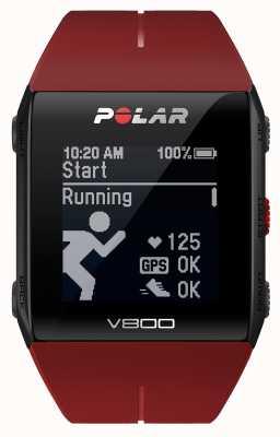 Polar V800 czerwony zegarek multisport gps (z hr) 90060774