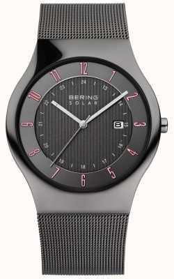 Bering Męski słoneczny klasyczny zegarek 14640-077