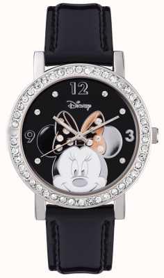 Disney Adult Mysz Minnie ze srebra ze stali nierdzewnej MN1149