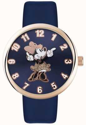 Disney Adult Niebieska bransoletka z kopertą z różowego złota MN1471