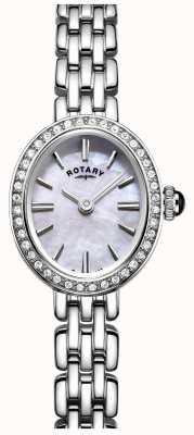 Rotary Womans zegarek ze stali nierdzewnej z masą perłową LB05050/07