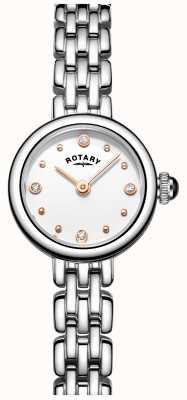 Rotary Womans elegancki zegarek ze stali nierdzewnej LB05052/02