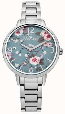 Cath Kidston Cath kidston wleczony różowo srebrny zegarek bransoletkowy CKL001SM