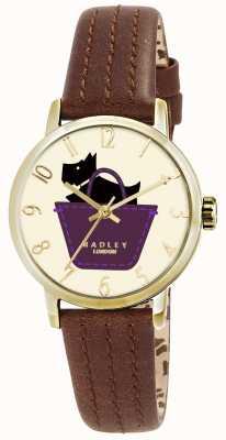 Radley Zegarek graniczny z oryginalnym skórzanym paskiem RY2290