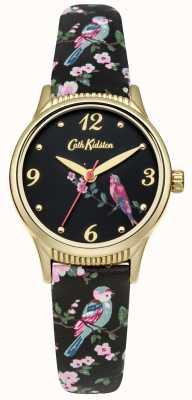 Cath Kidston Grafiki z czarną podstawą drukowane ptaki CKL013BG
