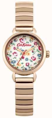 Cath Kidston Ekspander różowego złota z fotograficzną tarczą CKL016RGM