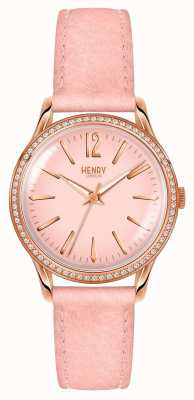 Henry London Zestaw damski różowy shoreditch HL34-SS-0202