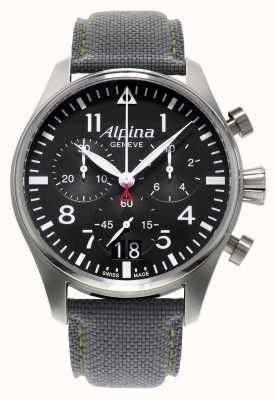 Alpina Męski zegarek kwarcowy chronograf startimeru AL-372B4S6