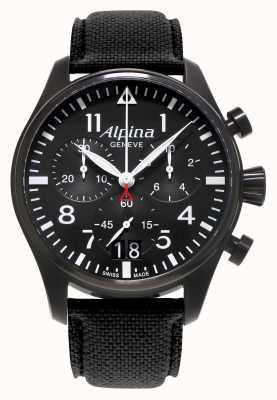 Alpina Męski zegarek kwarcowy chronograf startimeru AL-372B4FBS6