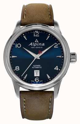 Alpina Męski alpiner automatyczny niebieski AL-525N4E6