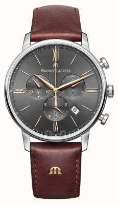 Maurice Lacroix Męskie chronograf szary eliros EL1098-SS001-311-1