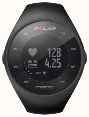 Polar Unisex czarny m200 gps wrist hr m / l 90061201