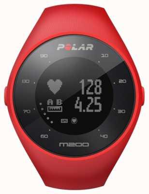 Polar Unisex czerwony m200 gps m / l nadgarstek godz 90061217