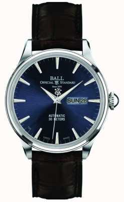 Ball Watch Company Wieczny niebieski pociąg nawigacyjny NM2080D-LJ-BE