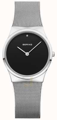 Bering Klasyczna czarna tarcza womans 12130-002