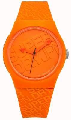 Superdry Unisex miejski pomarańczowy silikon SYG169O