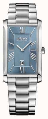 Hugo Boss Mens admiral bransoleta ze stali szlachetnej niebieska tarcza 1513438