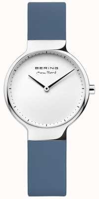 Bering Ladies max René wymienny niebieski pasek gumowy 15531-700