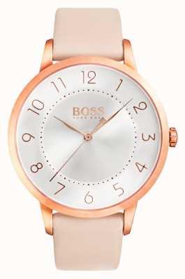 Hugo Boss Zegarek kobiet eclipse z różowym wykończeniem 1502407
