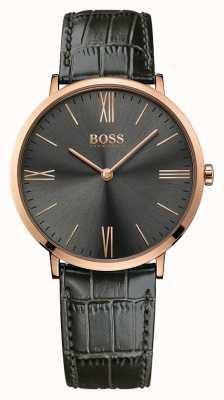 Hugo Boss Męski skórzany zegarek marki jackson 1513372