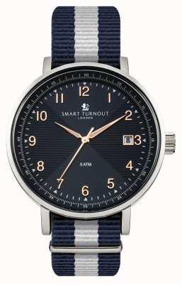 Smart Turnout Scholar niebieski zegarek z paskiem yale STH3/BL/56/W